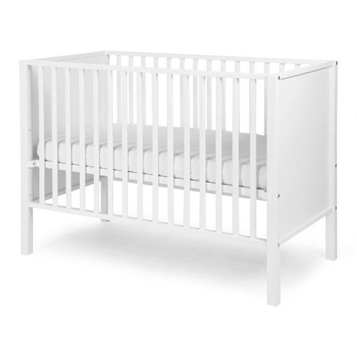 ★衛立兒生活館★比利時Childhome BE22WI嬰兒床/椰子白 +天然椰子床墊贈100%純棉床包