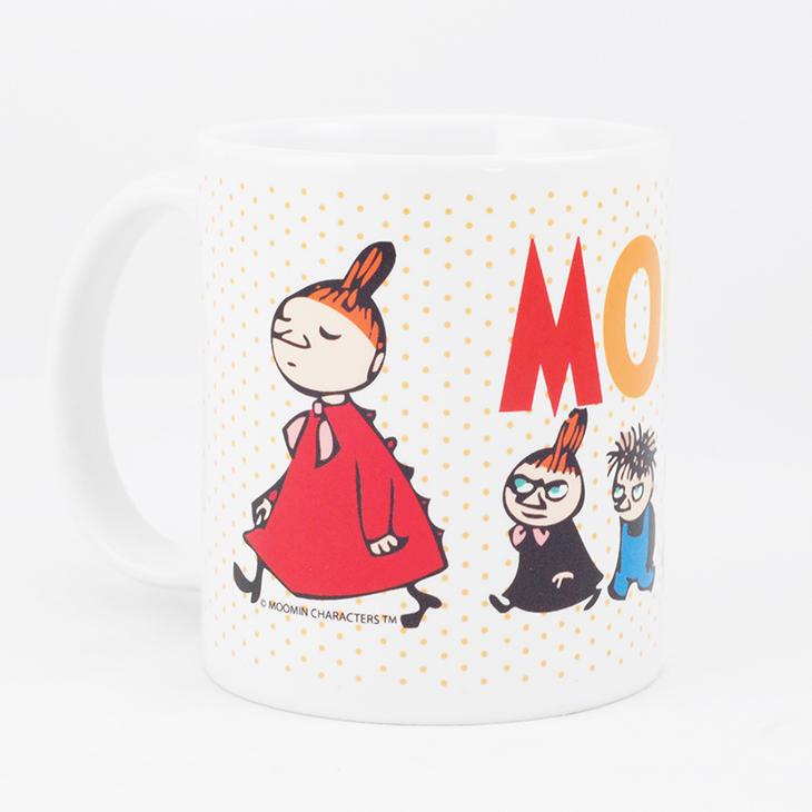 Moomin嚕嚕米授權 - 馬克杯 / 牛奶杯:【 小不點家族 】