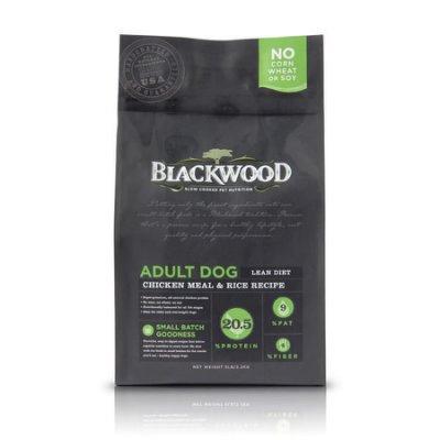 WDJ推薦 Blackwood 柏萊富天然寵糧 特調低卡保健配方 (雞肉+糙米) 5LB/5磅