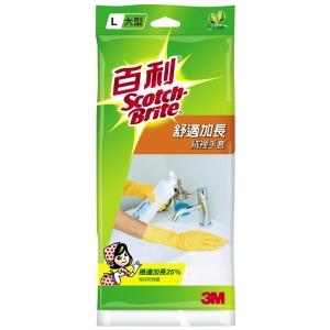 【3M 百利】 LC-G38 舒適加長型絨裡手套 (L)