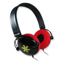 【迪特軍3C】aibo 鈞嵐 YL-MV5 紅黑色 頭戴式摺疊耳機麥克風 適合用於MP3、隨身聽、隨身CD、收音機、迷你音響