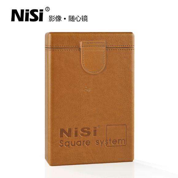 ◎相機專家◎ NISI 耐司 100mm 方形 濾鏡盒 濾鏡袋 真皮 Benro LEE 方形漸層鏡可用 公司貨