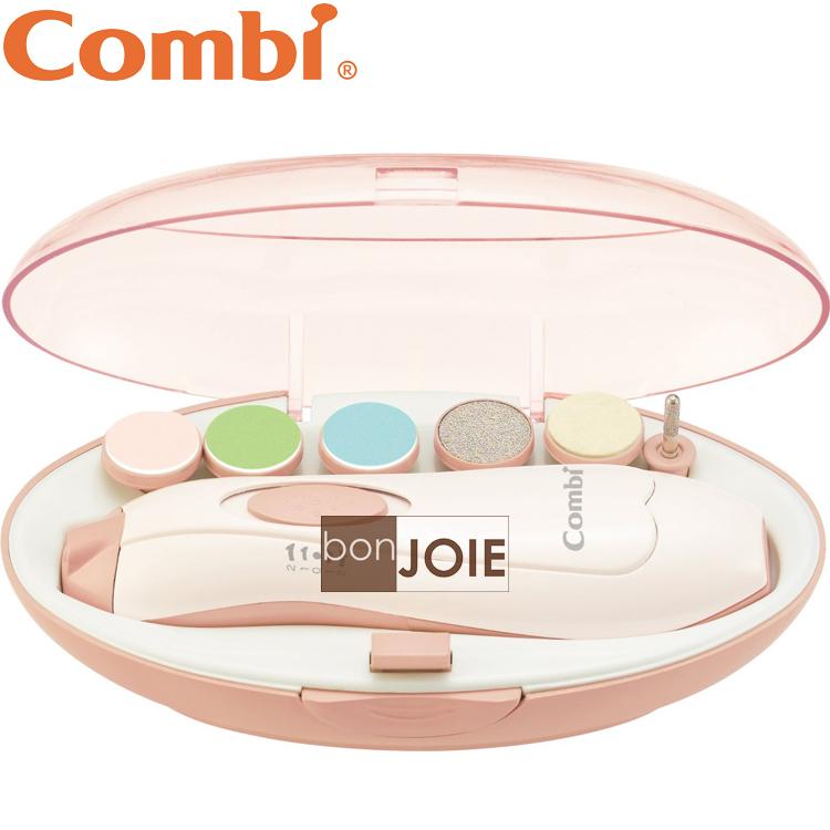 ::bonJOIE:: 日本進口 境內版 Combi Baby Nail Care Set 電動磨甲機 (全新盒裝) 大人小孩兩用 新生兒 嬰幼兒適用 指甲剪 磨甲機