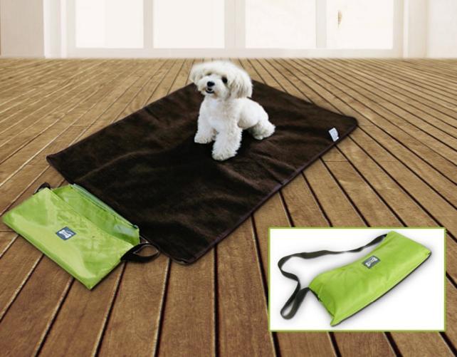 多功能便攜寵物墊子 戶外狗毛毯 防水保暖貓狗睡墊 床窩墊