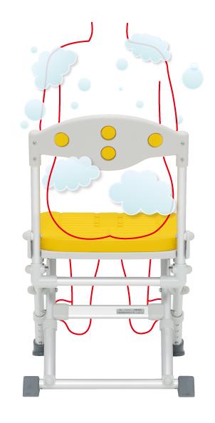 洗澡椅,有靠背,舒適