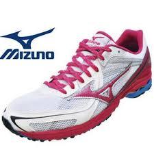 MIZUNO美津濃 WAVE SPACER DYNA(W)女路跑鞋(白*粉紅) 高抓地力 2014下半季新款