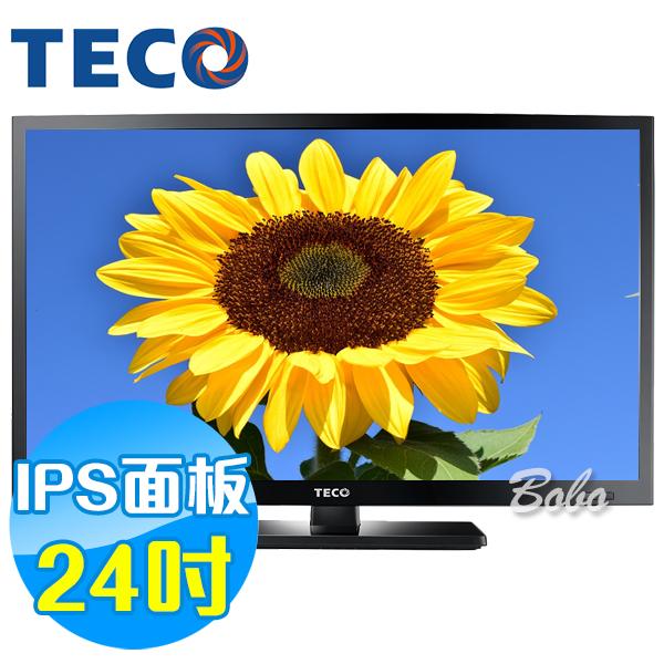 TECO東元 24吋 TL24K1TRE LED液晶顯示器 液晶電視(含視訊盒)