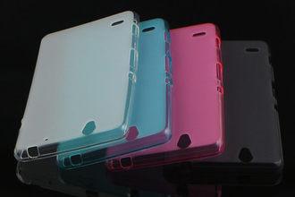 ☆索尼Sony Xperia C4 彩色布丁套 超薄後殼 軟背殼 清水套 手機保護套