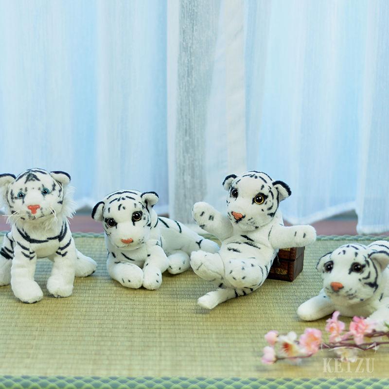 【凱茲工坊】白老虎玩偶 ● 五虎退可用–現貨 COSPLAY道具 刀劍亂舞 白老虎娃娃