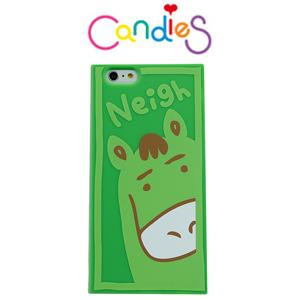【Candies】動物12生肖外殼(馬)IPhone 6 / 6S 可愛方便實用好夥伴