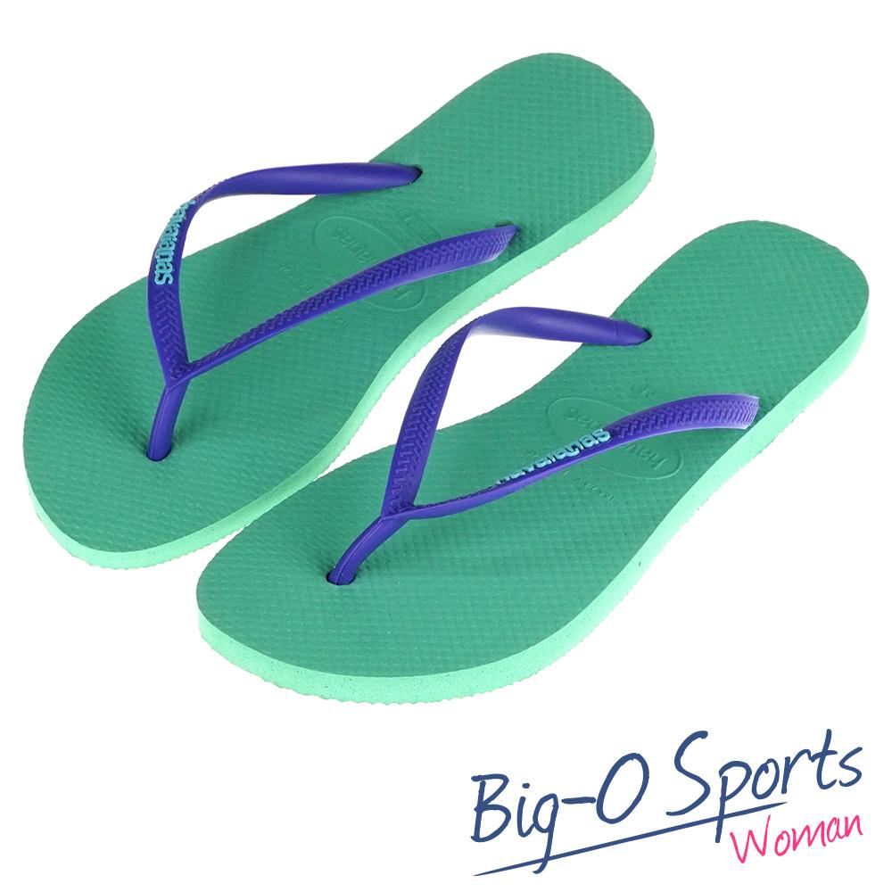 決心出清促銷650元 Havaianas 哈瓦仕 Slim Logo Pop-Up 細帶 巴西拖 沙灘拖鞋 女 HF6F9787G2