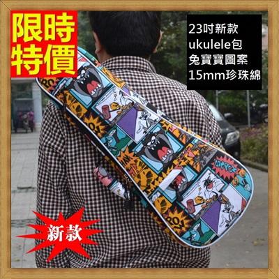 烏克麗麗包 ukulele琴包配件-23吋卡通系列兔寶寶帆布手提背包保護袋琴袋琴套69y18【獨家進口】【米蘭精品】