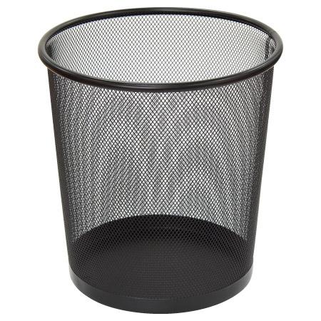 網狀垃圾桶 12L M BK