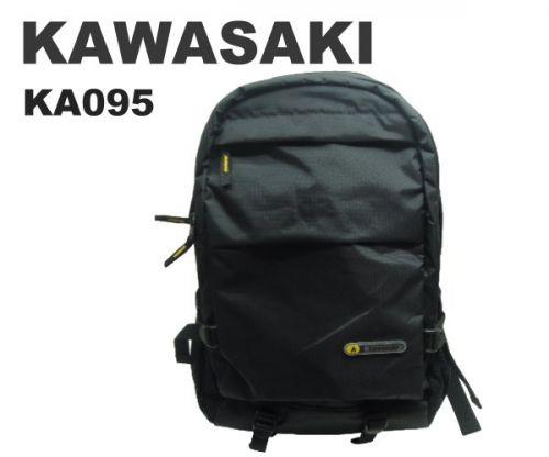 【加賀皮件】 KAWASAKI 多層收納設計四色?選輕量防潑水休閒後背包【KA095】