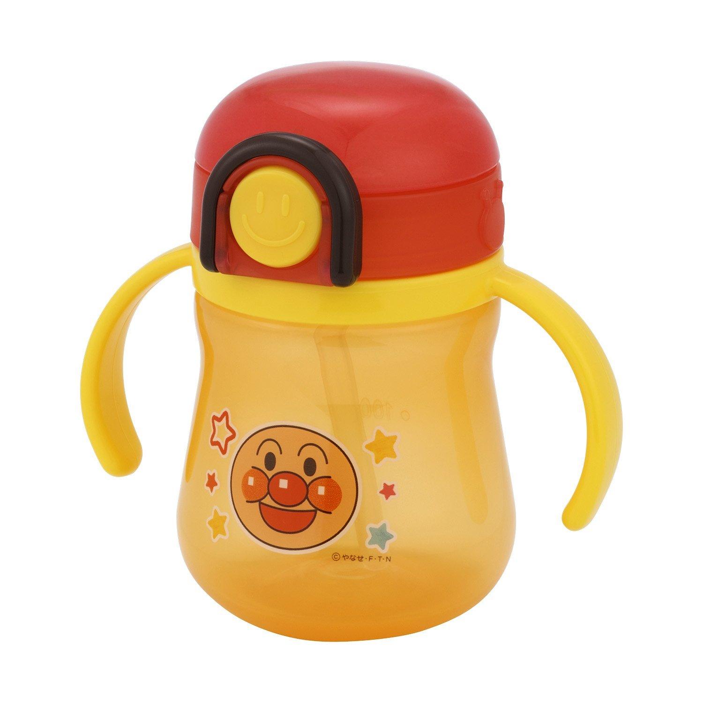 **雙子俏媽咪親子館** [日本] 麵包超人 Anpanman彈跳 雙耳 吸管 水壺/水杯/學習杯
