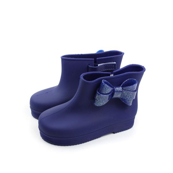 雨鞋 童鞋 藍色 小童 no006