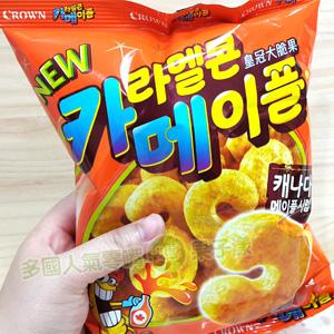 韓國CROWN 皇冠大脆果(楓糖味) 玉米果 [KR267]