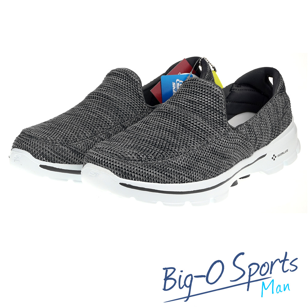 SKECHERS GO Walk 3 健走系列 男 54047GRY Big-O Sports