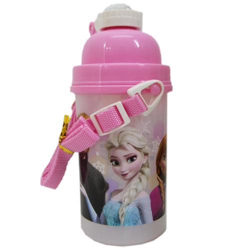 【真愛日本】15071700023彈跳水壺500cc-全人物 迪士尼 冰雪奇緣 Frozen 水壺 茶壺