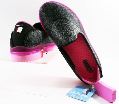 [陽光樂活] SKECHERS 女童系列 GO Flex 瑜珈鞋墊 避震減壓 - 81078LBKHP