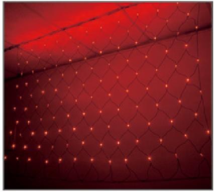 訂製品★LED 網燈 紅色 110V/220V (120顆燈) 6尺X4尺★永旭照明5A1-CM26R011(B)