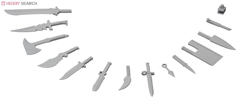◆時光殺手玩具館◆ 現貨 組裝模型 模型 壽屋 MSG MW34 匕首套組