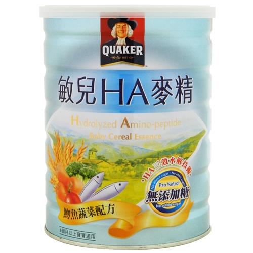 桂格敏兒HA麥精-吻魚配方 700g【合康連鎖藥局】