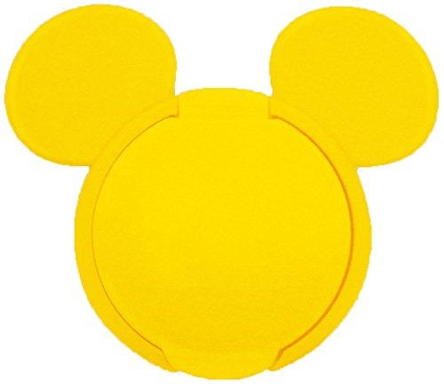日本 Disney 重複黏濕紙巾用盒蓋【黃色米奇】*夏日微風*