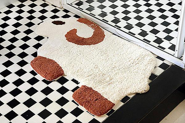 BO雜貨【YV2831】小綿羊保暖吸水防滑地墊 絨毛毯 止滑墊 門口腳墊 吸水地墊 浴室腳踏墊