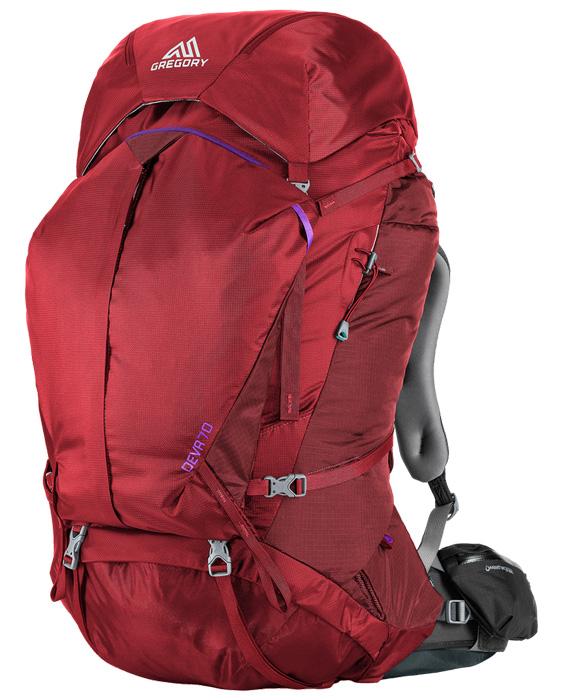 【鄉野情戶外專業】 Gregory  美國  Deva 70 登山背包《女款》/重裝背包 自助旅行背包-埃及藍S/65039 【容量70L】