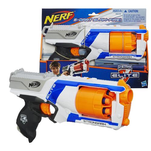 【 NERF 樂活打擊 】強擊者連發衝鋒槍