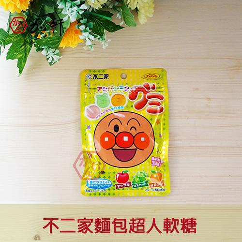 《加軒》日本不二家麵包超人軟糖