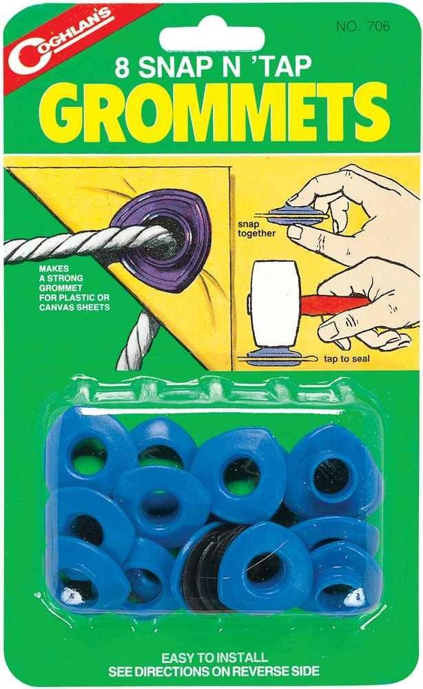 【鄉野情戶外專業】 COGHLAN'S |加拿大| 營帳塑膠扣環 PLASTIC GROMMETS/天幕帳外帳配件 706