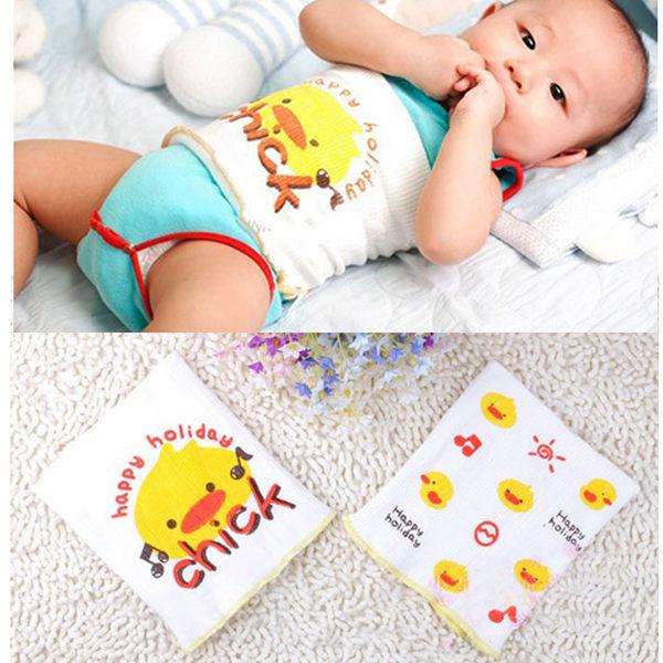 嬰兒棉紗肚圍 無縫針織護肚腹圍【2枚裝】