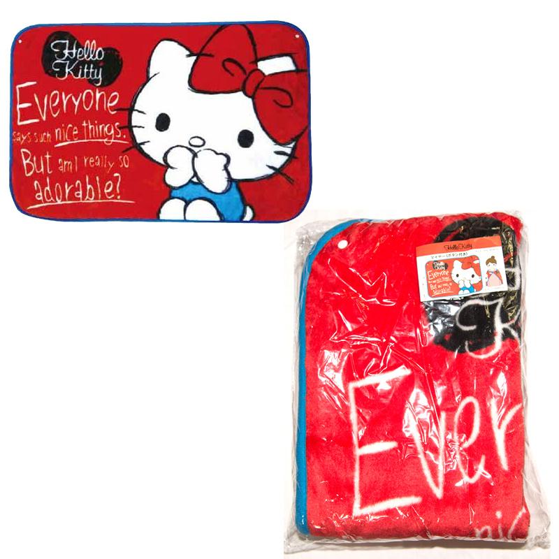 Hello Kitty 禦寒披風 披肩 日本正版品