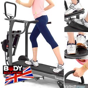 【BODY SCULPTURE】4in1多功能跑步機(踏步機美腿機.扭腰盤扭扭盤.伏地挺身器.運動健身器材.推薦.哪裡買)C016-2880