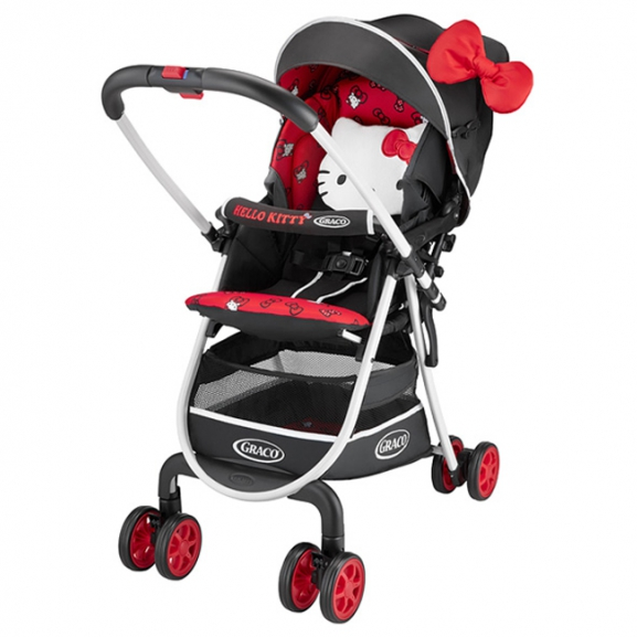 Graco--超輕量型雙向嬰幼兒手推車 高挑版 CitiLite R UP【HELLO KITTY限定款】