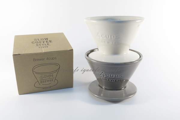 《愛鴨咖啡》SLOW COFFEE STYLE KINTO 陶瓷錐形濾杯 2-4人份 27632