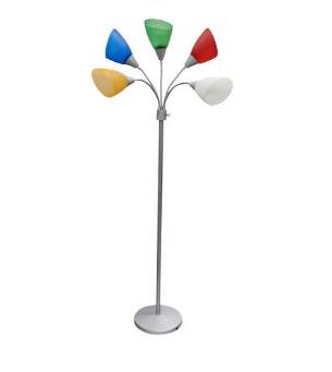 多角度樹花立燈 / 落地燈 E27 * 5