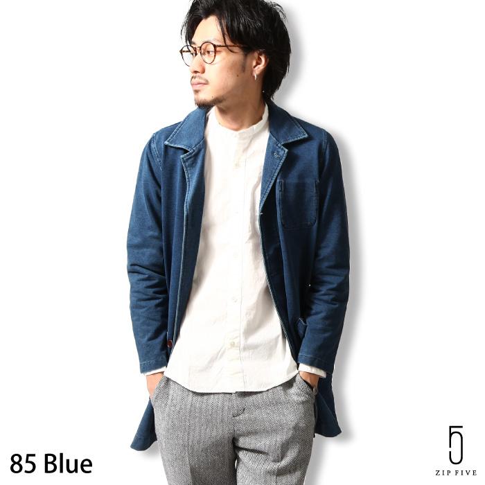 ★台灣現貨 Shop Coat 藍染刷色 丹寧 ZIP FIVE 日本男裝 超商取貨 zip-tw【a5711-566-aa】
