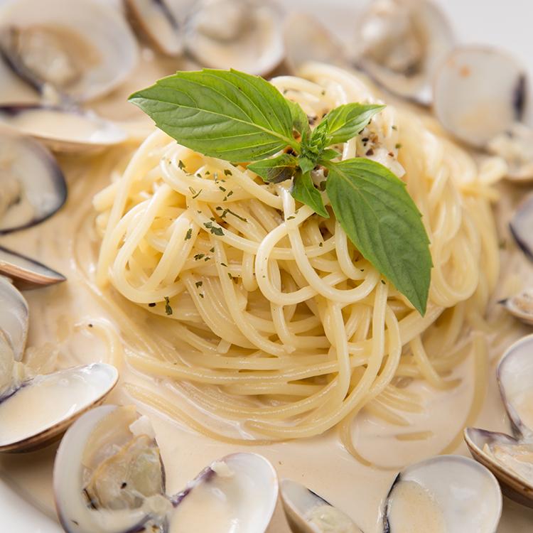【紅坊義式廚房】蒜香奶油蛤蜊義大利麵 / 料理包