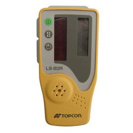 TOPCON 紅光接收器 LS80A 含尺夾 雷射儀戶外接收器 水平儀配件 旋轉雷射接收器