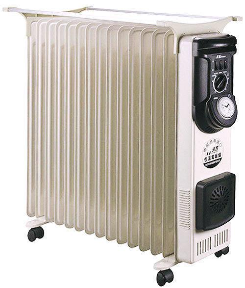 NORTHERN北方 15葉片式恆溫定時電暖爐/電暖器/暖手器/暖暖包 NP-15ZL