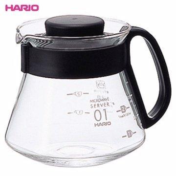 【HARIO】XVD-36B 可微波耐熱咖啡壺 360ml 咖啡壺 茶壺 玻璃壺 熱水壺 刻度 耐熱 環型把手