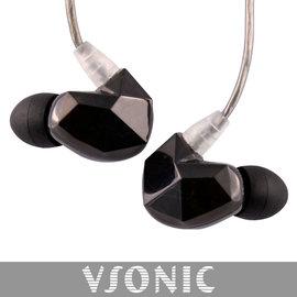 志達電子 VSD3S 非換線式 黑色版 鍍銀線升級版 VSONIC 耳道式耳機 公司貨 保固一年