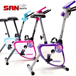 【SAN SPORTS 山司伯特】YA!奇摩子!飛輪式磁控健身車C149-024(超大座椅.按摩美臀墊)室內折疊腳踏車.摺疊美腿機.運動健身器材.推薦哪裡買