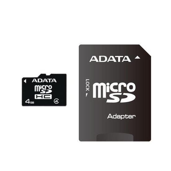 *╯新風尚潮流╭*威剛記憶卡 4G 4GB MicroSDHC Class 4 C4 AUSDH4GCL4-RA1