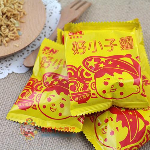 【0216零食會社】嘉南-好小子麵(雞汁)