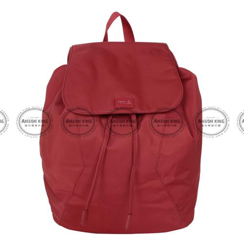 Outlet代購 agnes.b 亞洲限定款 後背包 小b (紅色) 二 色 書包 通勤包 雙肩包 斜挎包 防水