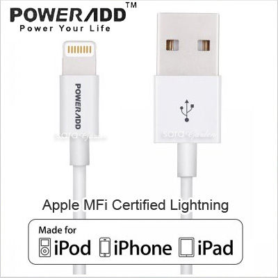APPLE 蘋果 MFI 認證 Power ADD Lightning 高速 iPhone 6 6S Plus 5 5S SE i6 i6s i5s 4.7吋 5.5吋 iPad Air mini i..